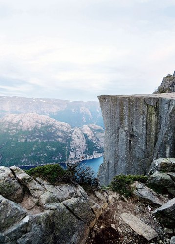 The stark grandeur of Pulpit Rock