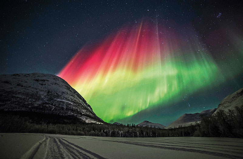 Aurora borealis, Northern Lights, Norway