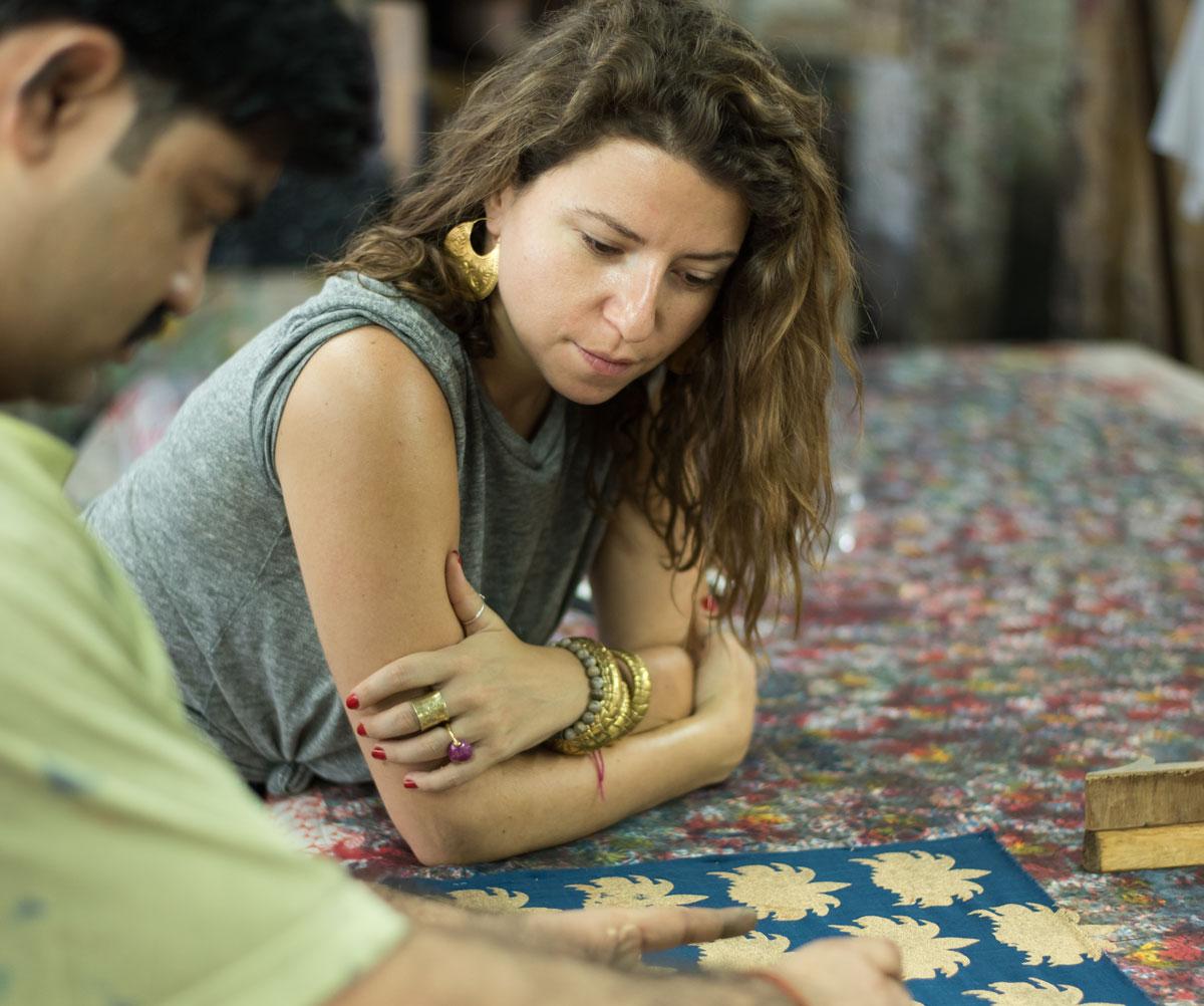 Nur Kaoukji, Lebanese designer, Ecru