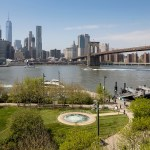 Anish Kapoor's Descension at Brooklyn Bridge Park