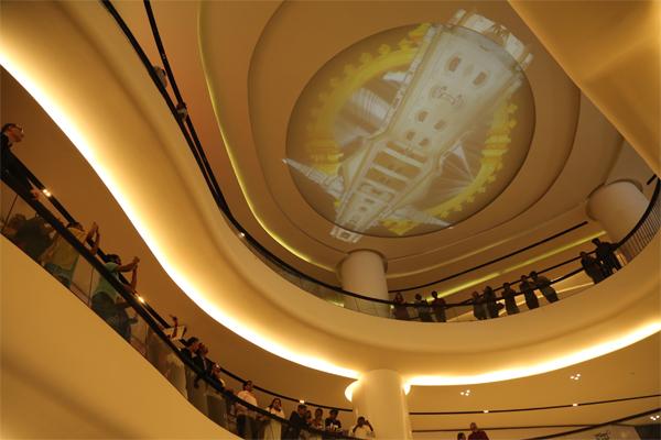 Video Projection by Patrick Rimoux - Chenn-eye