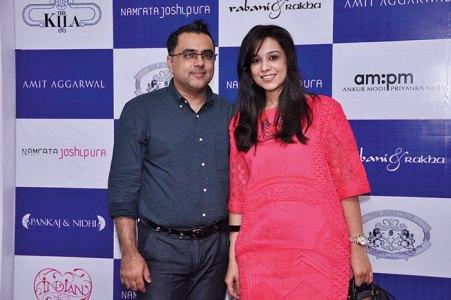 Pankaj and Nidhi Ahuja