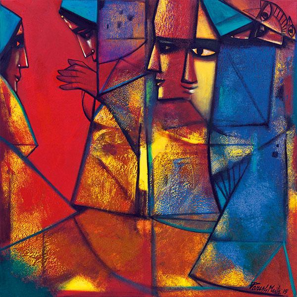 Paresh Maity, Indian Contemporary Artist