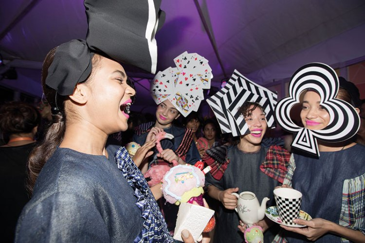 Little Shilpa's mad hatters at LFW