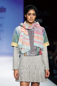 Akaaro by Gaurav Jai Gupta was one of my favourites at LFW's Textile Day