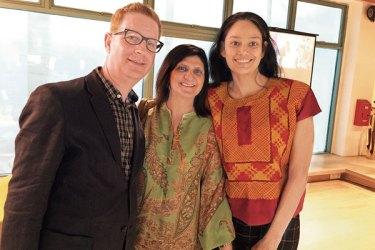 David Osrin, Nayreen Daruwalla, Prajna Desai
