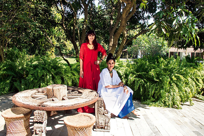 Payal Khandwala's weekend home, Alibaug, Fashion Designer-cum-Artist