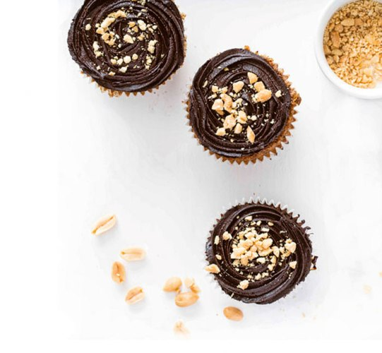 The Protein Bakeshop's peanut butter cupcakes