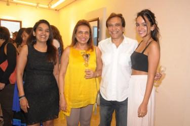 Peena Hendricks, Naaz and Remu Jhaveri, Maya Hendricks