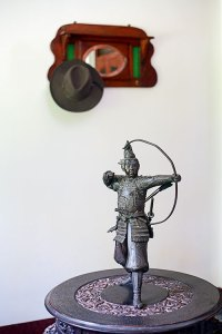 Oriental artifacts: a Chinese warrior