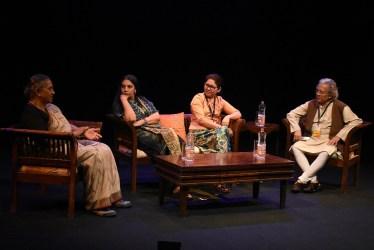 Margaret Alva, Shabana Azmi, Ma Thida, Anil Dharker