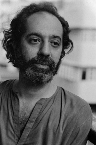 Poet Adil Jussawala in Bombay in the 80s