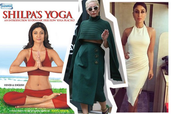 Shilpa Shetty, Lady Gaga, Kareena Kapoor Khan