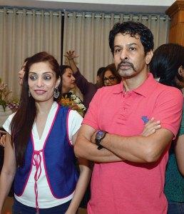 Prachee and Amrish Shah