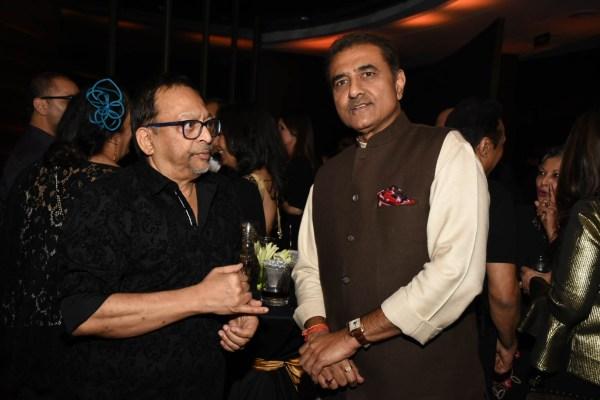Pradeep Guha and Praful Patel