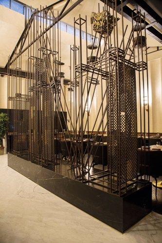 Rathin Burman's installation