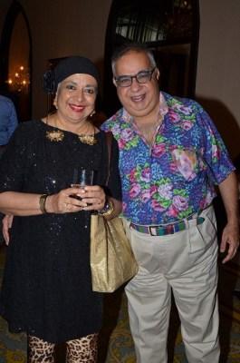 Praveena and Jamal Mecklai