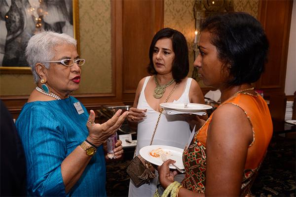 Pravina Mecklai, Kitu Gidwani & Viji Manuel