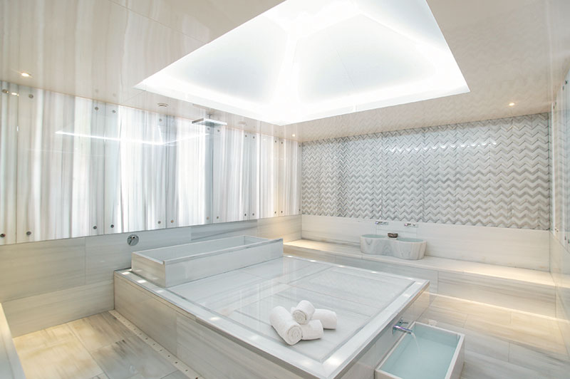 Private Hammam Room At The Purovel Spa Sport Swissotel Bosphorus Istanbul