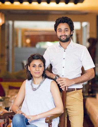 Swati and Digvijay Sinh Kathiwada: treasured teamwork
