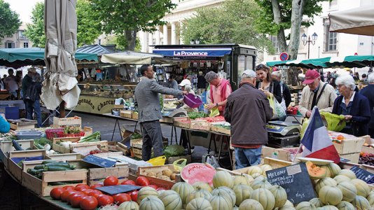 Market day in Aix: iconic produce of Provence and more