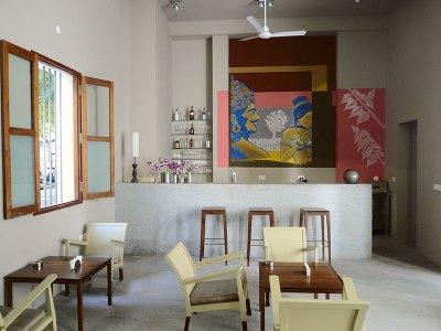 Villa Shanti: continental flavours