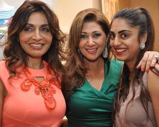 Queenie Singh, Rukhsana Eisa, Tiara Singh
