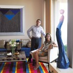Designer Rachana and Lokmat Group CEO Deven Darda