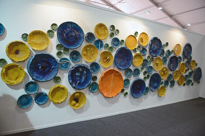Rahul Kumar, Circle Uncircled, India Art Fair 2015