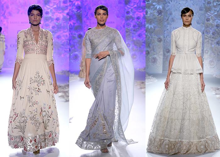 Rahul Mishra, India Couture Week 2016, Runway, Festive, Sari,