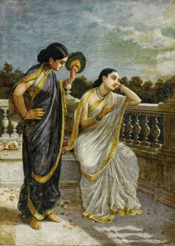 Raja Ravi Varma's untitled painting (Damayanti) sold for a whopping 11.09 crore rupees at Sotheby's New York sale of modern and contemporary South Asian art in March 2017