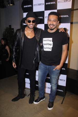 Ranveer Singh and Rohan Shrestha