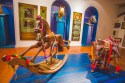 Replica of the original rocking horse that has been in the Hermès family for 6 generations