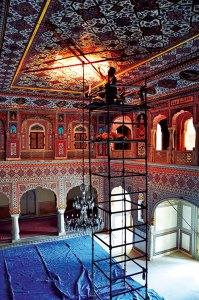 Restoration of the Darbar Hall