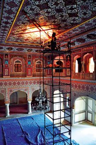 Restoration of the Darbar Hall