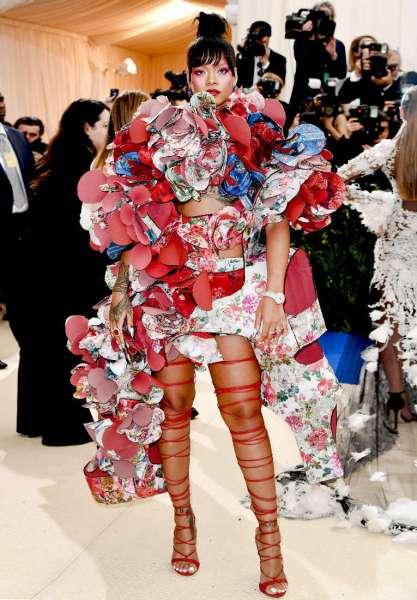 Rihanna in Comme des Garçons