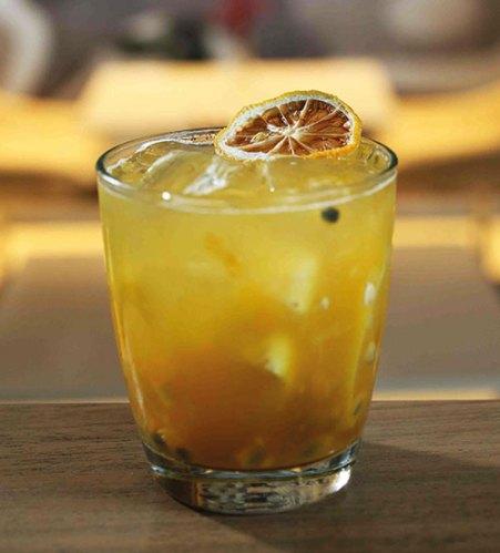 The refreshing caipirinha, Brazil's national cocktail