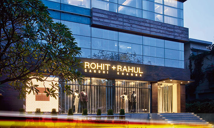 Rohit Gandhi and Rahul Khanna, Fashion Designer, New Delhi