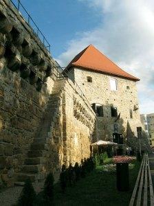 The historic Bastionul Corridor
