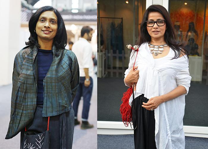 Left to right: Sunita Shanker and Sangita Kathiwada