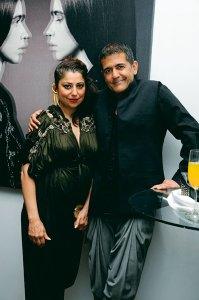 Sabina and AD Singh