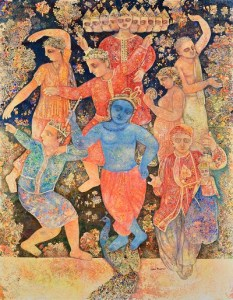 Puppets Dancing for Krishna