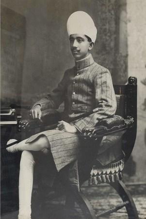 Salar Jung III in a Sherwani, Salar Jung Museum
