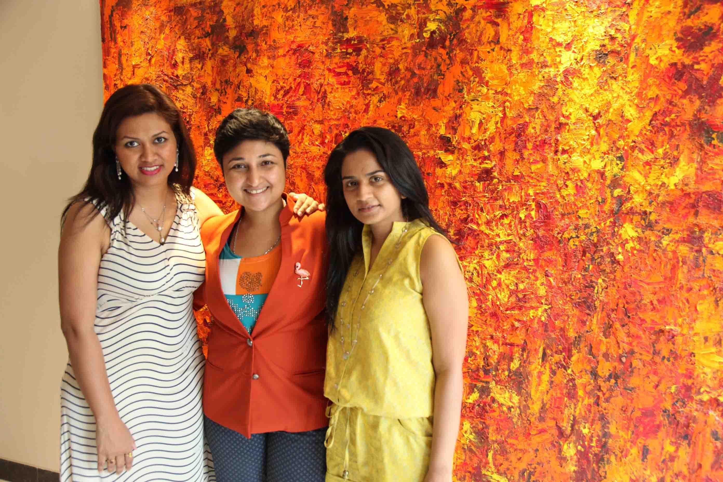 Saloni Doshi and Devita Saraf, Sharmistha Ray, Bellevue Brunches, Arty Hearty