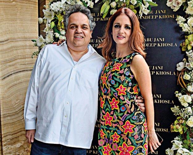 Sandeep Khosla, Sussanne Khan