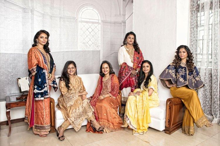 Damini Kumari of Banswada, Malvika Kumari of Kutch, Jailakshmi Devi of Wadhawan, Sangeeta Kilachand, Krishna Kumari of Panna, Vedika Rana of Nepal