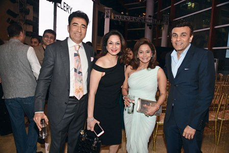Sanjay and Ina Arora, Roopa and Haresh Fabiani