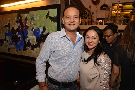 Sanjeev and Penny Patel
