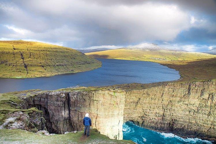 Taneja at Faroe Islands