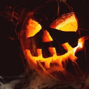 Ghoulish pumpkin